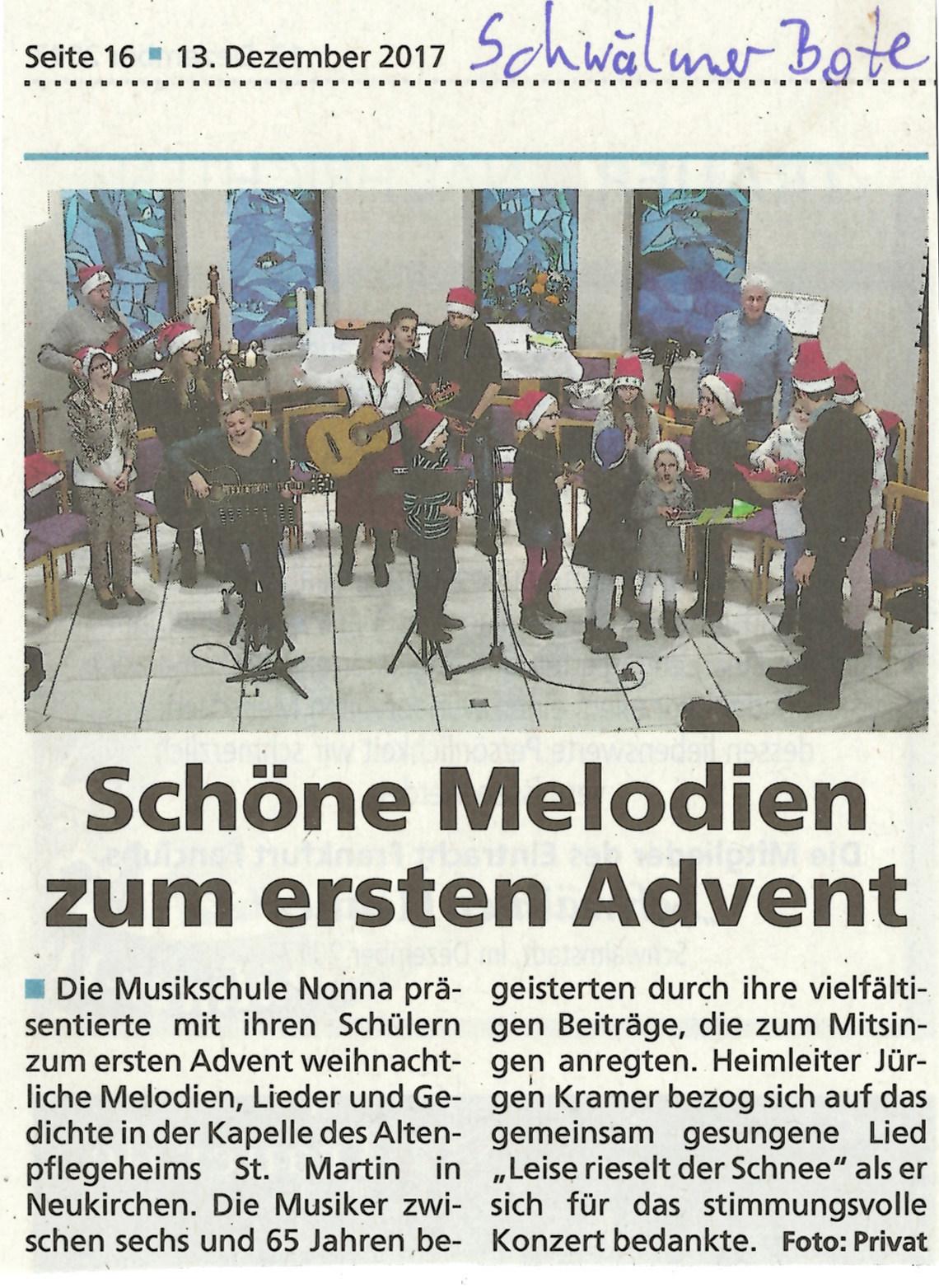 Schwälmer Bote 13.12.2017